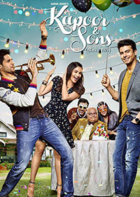 Watch or Download Hindi Movie Kapoor & Sons Online - 2016